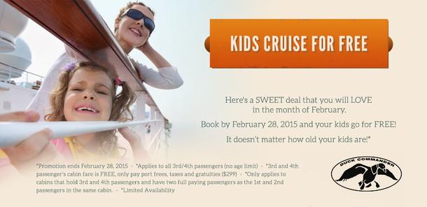 kids cruise free